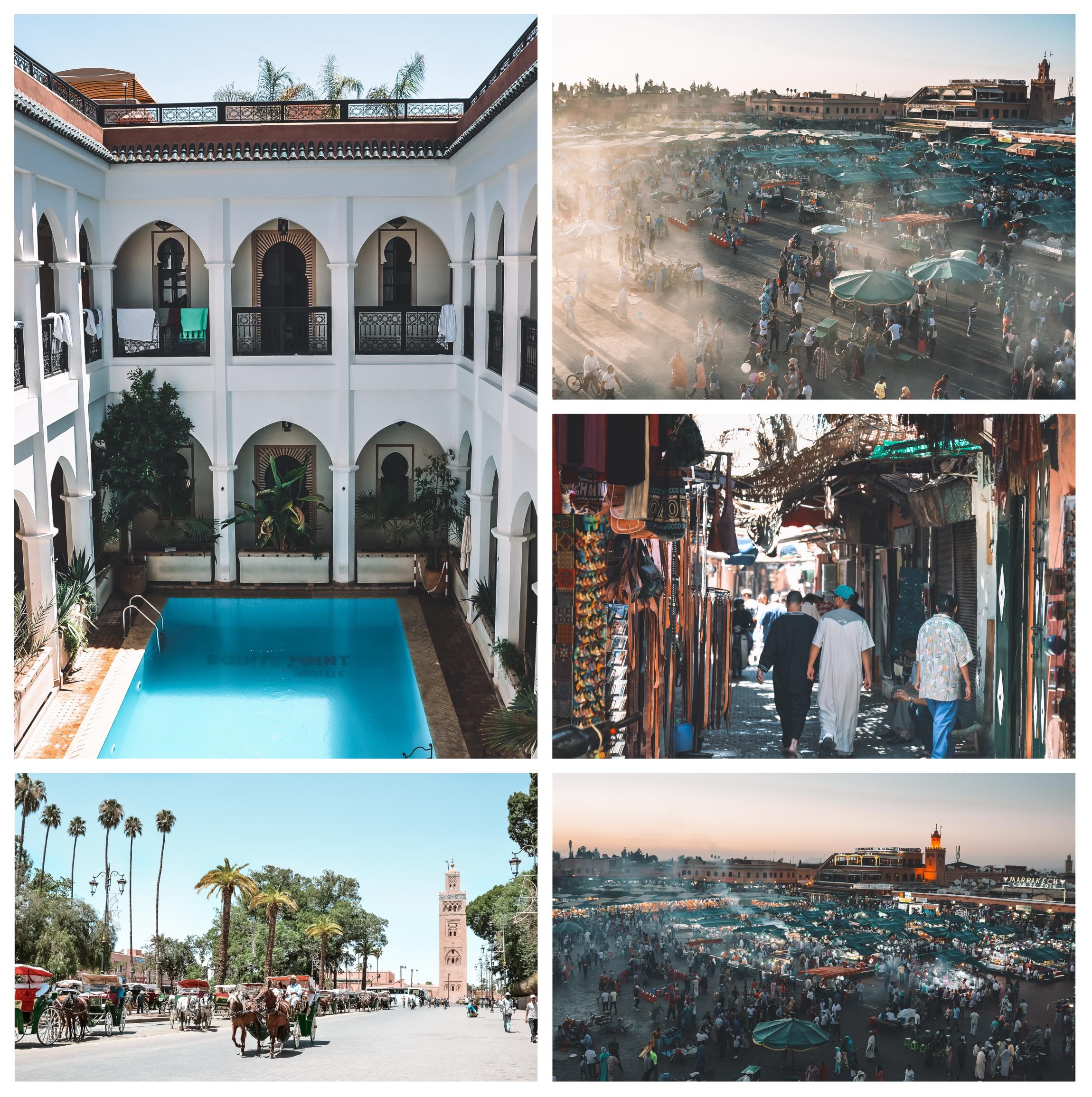 maroc marrakech riad