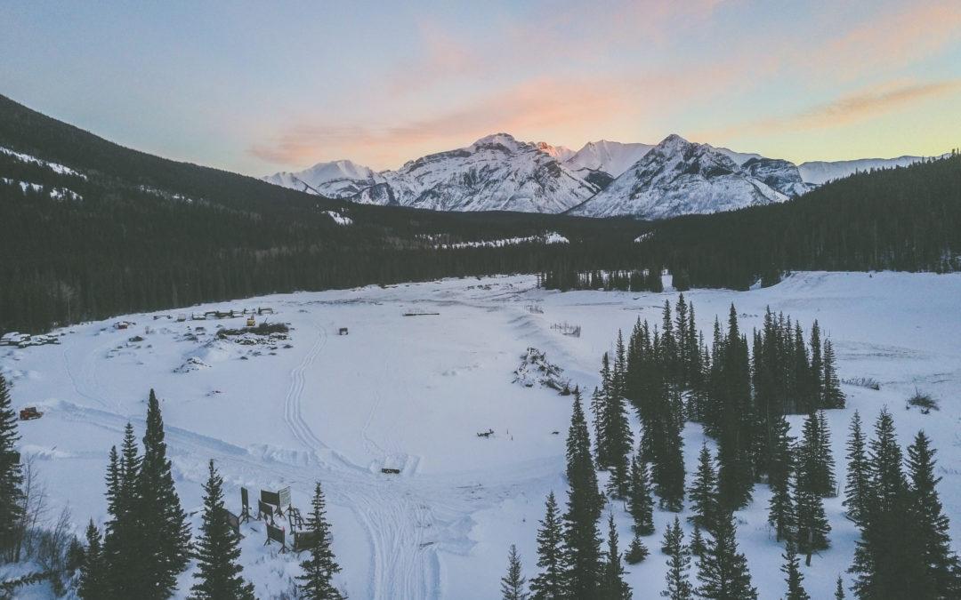 Road trip, les Rocheuses canadienne en hiver