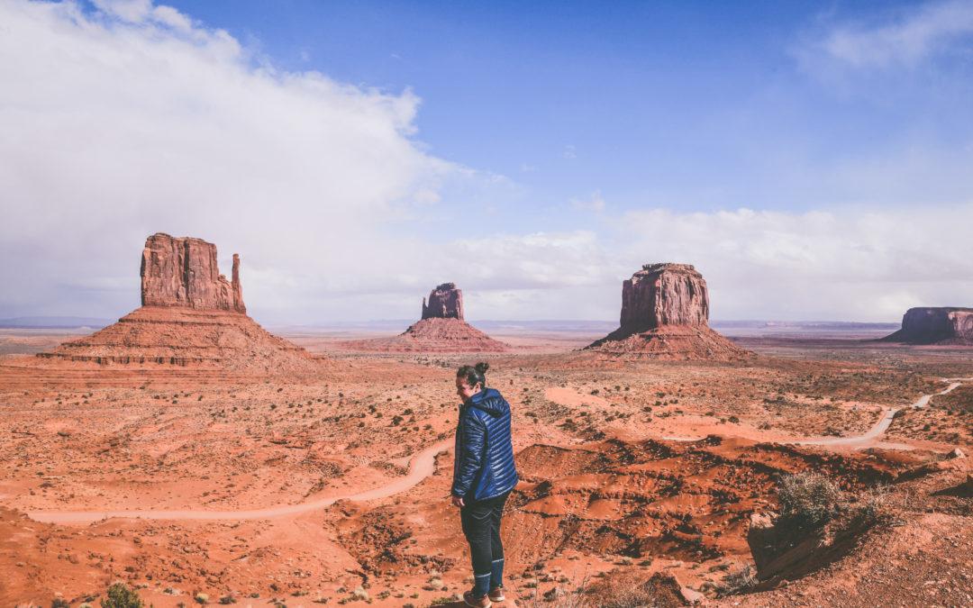 Itinéraire d'un road trip dans l'ouest américain