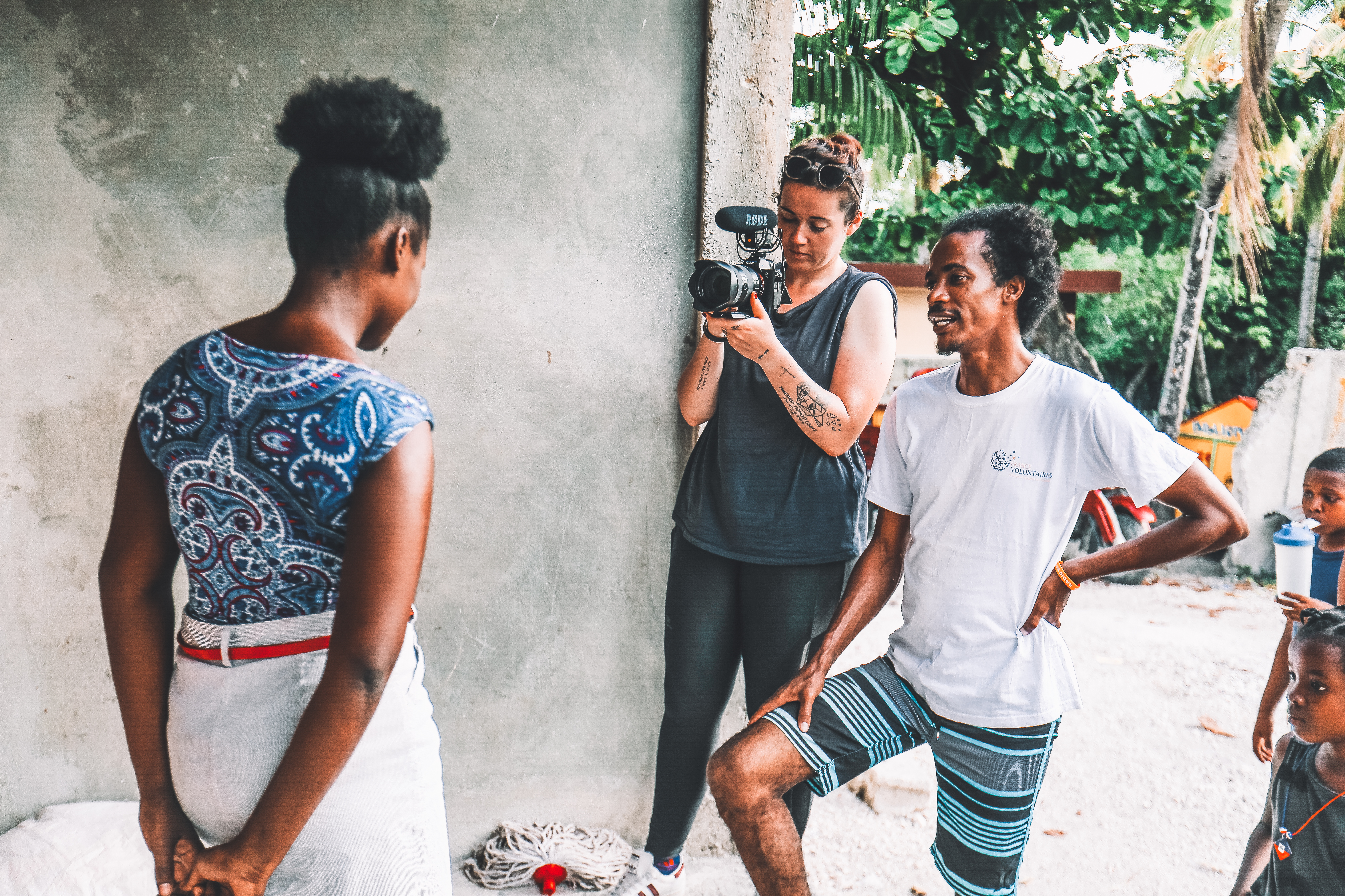 Haïti Humanité le p'tit reporter olivia kohler humanité série documentaire le petit reporter