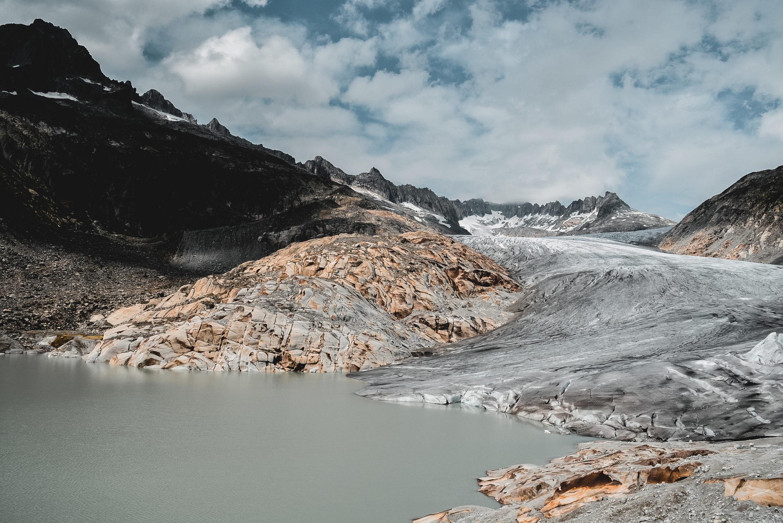 glacier du rhone rhône suisse