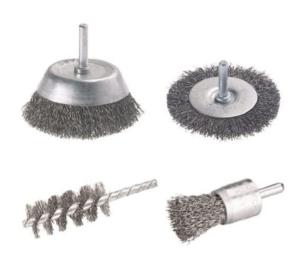 brosse métallique traiter la rouille