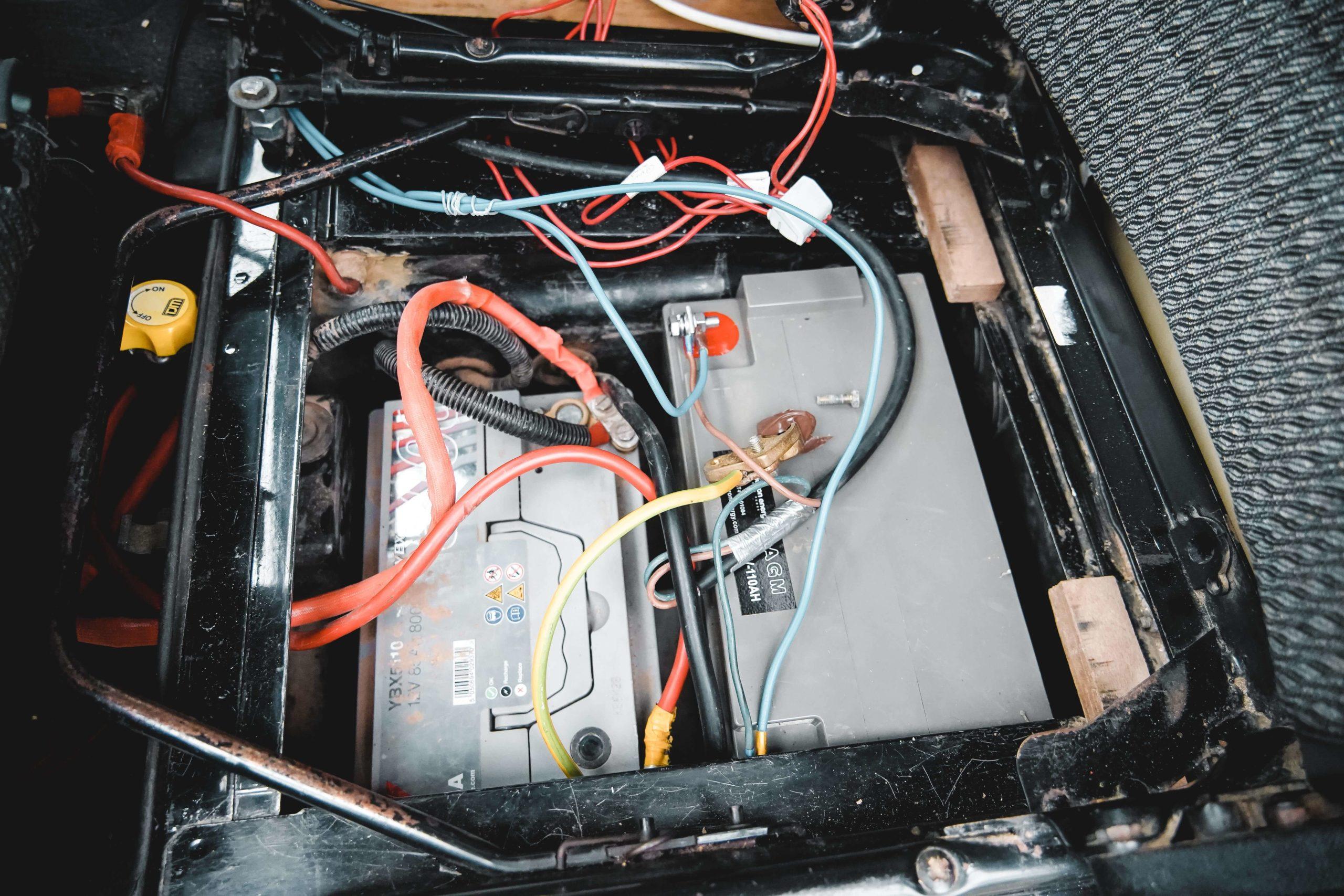 batterie auxiliaire van