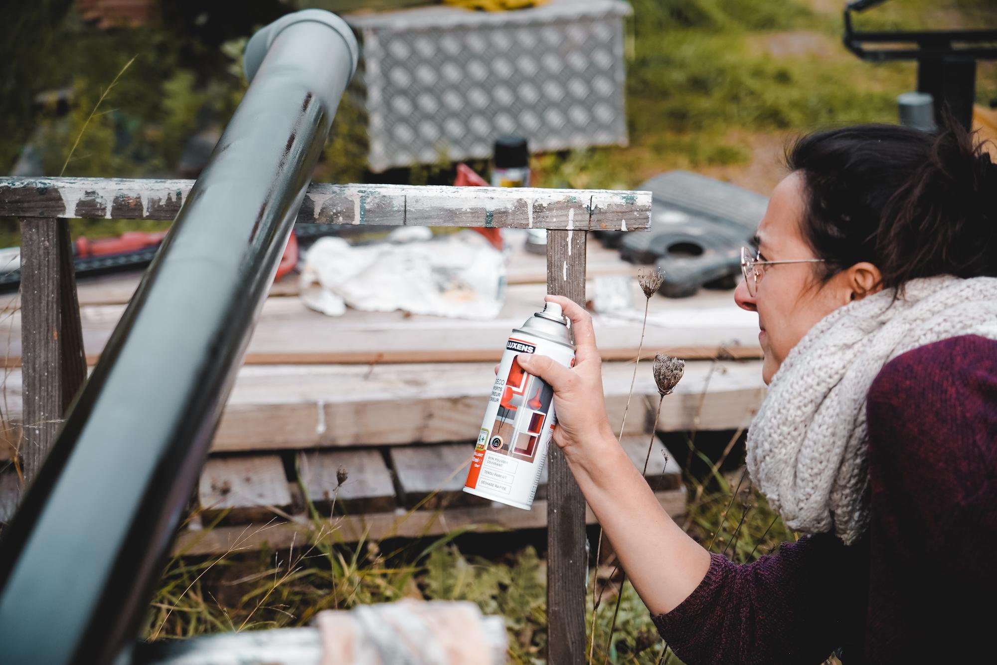 fabriquer douche solaire maison van