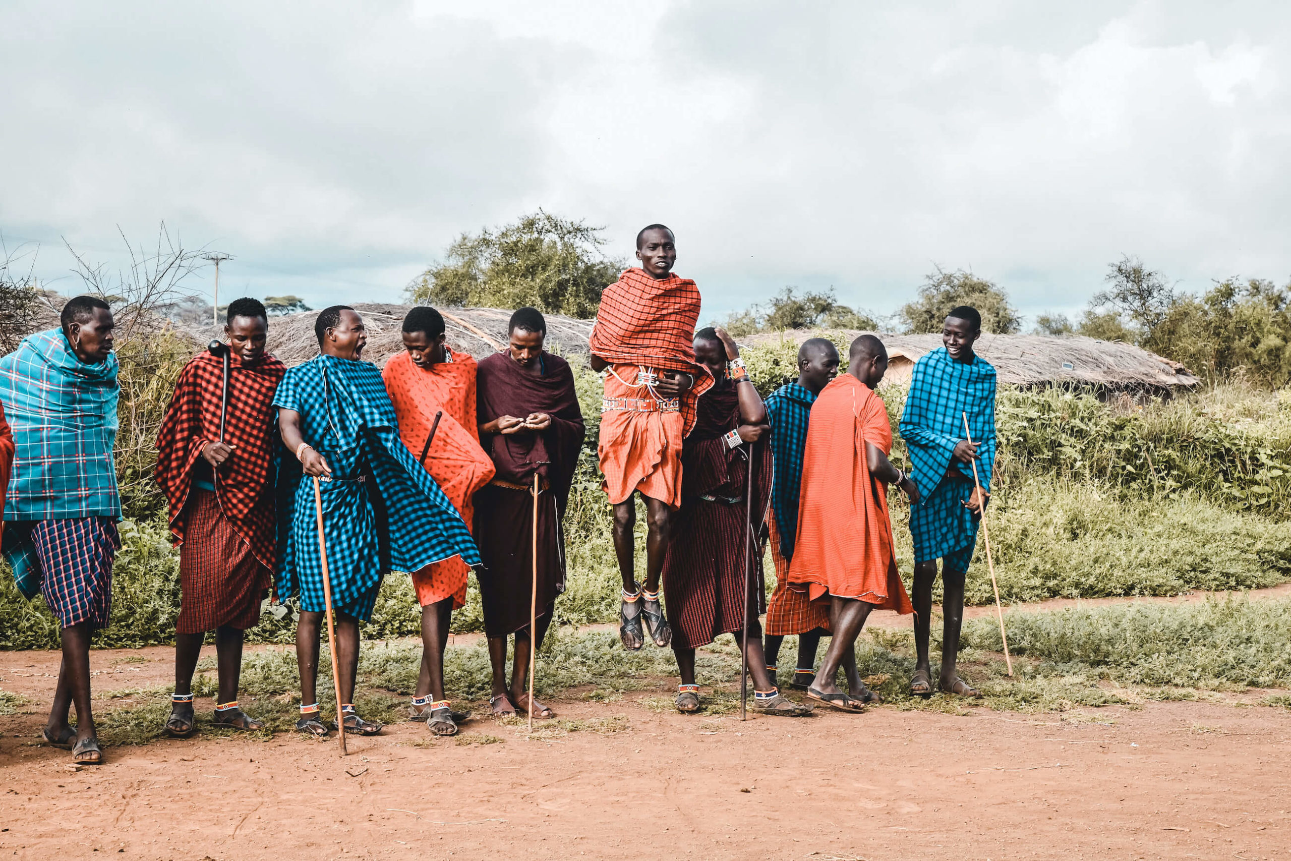 masai maasai kenya tribu