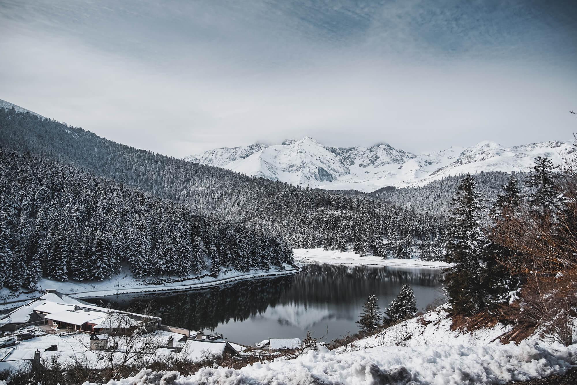 hautes pyrénées lac de payolle